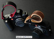 *LUIGI GENIUS WRIST STRAP to LEICA SL601,S2,IF WITH RING,ANY CAMERAS,LINED SUEDE