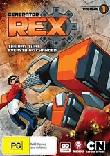 Generator Rex: The Day That Everything Changed (Vol 1) NEW R4 DVD