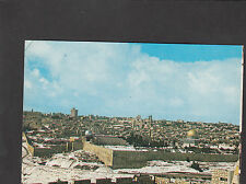 Postcard  - Israel - View of Jerusalem, covered with snow C1970s