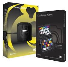 X-RITE ColorMunki Display + Colorchecker Passport Kit CMUNDISMSCCPP