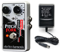 Electro-Harmonix EHX Pitch Fork Polyphonic Pitch Shifting Guitar Effects Pedal