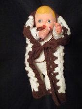 Vintage Handmade Baby Dolls Crochet Doll lot of 2