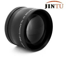 58mm 2.0X Magnification Telephoto Converter Lens for Canon Nikon DSLR Camera
