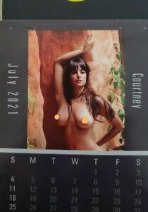 Hot Nude Girls Mini 2021 Calendar FREE SHIPPING FROM USA..