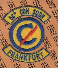 US Army 68th Constabulary Squadron FRANKFURT Germany patch tab set