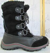 39 | Pajar Women Black Leather Waterproof Lace Zip Up Ankle -30°C Winter Boot