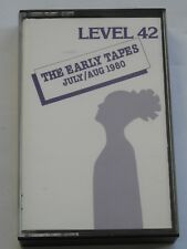 Level 42 - The Early Tapes - Cassette Album - Used