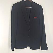 UNDERCOVER Black Formal Dinner Jacket 2 Btn Center Vent  2 X Small Fit 34 Reg