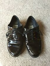 Ladies Black Patent Lace Up Super Comfort Shoes from Fitflop Size 5