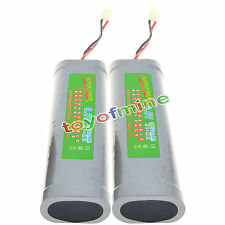 2 x 9.6V 3800mAh Ni-MH batteria ricaricabile RC M1