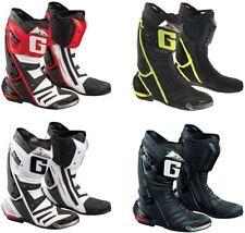 Bottes cheville ajustable pour motocyclette Homme