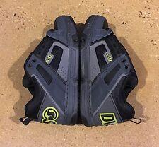 DVS Comanche Size 7 US Grey Black Lime BMX DC Skate Shoes Sneakers
