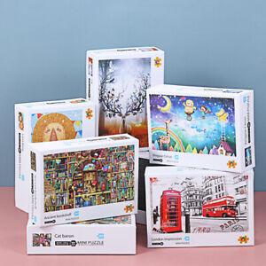 Photo Jigsaw Puzzles 1000Pcs Landscape Puzzle Educational Toy Adults Kids Games-