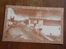 Sweet Home, Oregon, B&W Print Postcard, of Downtown Area