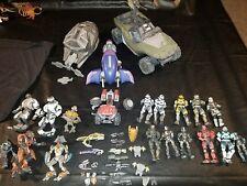 McFarlane Halo Reach WARTHOG vehicle Figures huge Lot