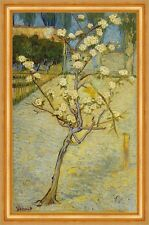 Small Pear Tree In Blossom Vincent Van Gogh Pear Tree Blossom Garden B a3 03296