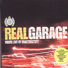Real Garage mixed live by Masterstepz ~ NEW 2CD SET (2001, Ministry Of Sound UK)