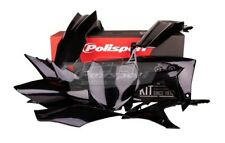 POLISPORT SET PLASTIQUE COMPLET CROSS MX NOIR HONDA CRF 250 R 2014-17