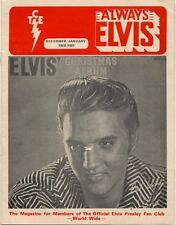 Elvis Presley Fan Club Magazine Dec/Jan 1980-81