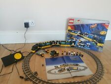 Lego System 4559 Cargo Engine Train Electric 9v Working Collectors Vintage