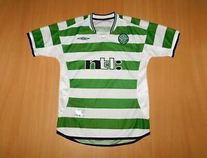 * CELTIC 2001 2002 shirt Umbro jersey trikot Ireland 2003 Glasgow 01 Football