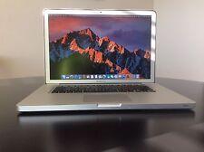 "Apple MacBook Pro 15.4""(Mid-2012) 2.6GHz Intel Core i7 16GB RAM 500GB Sierra"