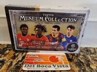2020-21 TOPPS MUSEUM COLLECTION UEFA CHAMPIONS SOCCER ⚽️ FACTORY SEALED BOX