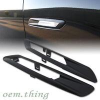 For BMW 5 SERIES F10 4D Side Fender Light Lamp Trim Matte Black 528i 523i 550i