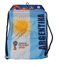 Argentina FIFA  Russia 2018 World Cup Soccer Official Licensed Cinch Bag