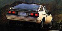1985 Chrysler LASER Brochure / Catalog w/ Color Chart: TURBO,XE.........New!