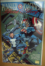 MARVEL Comics PUNISHER & CAPTAIN AMERICA: BLOOD & GLORY #1