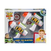 Disney / Pixar Toy Story 4 Laser Tag Blasters, 2 Player Set, Ages 5+