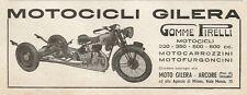 Y0183 Motocicli Gilera - Arcore - Pubblicità 1937 - Advertising