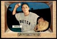 1955 Bowman Baseball Sammy White Boston Red Sox #47