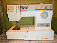 SINGER MODEL 9110 FREE ARM SEWING MACHINE W/ACCESSORIES & INSTRUCTIONS