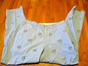 Pennington & Bailes UNC Tar Heels LOGO STTCHED LONG Pants NWOT CAROLINA BLUE -34