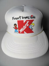 Vintage 1980s KMART K-mart LOVES KIDS Store Advertising SNAPBACK TRUCKER HAT CAP