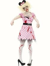 Zombie Rodent Rat Minnie mouse Fairy tale fancy dress costume Womans Halloween