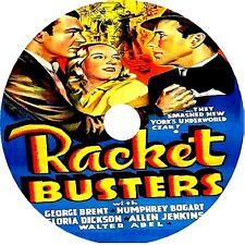 Racket Busters DVD Humphrey Bogart George Brent Gloria Dickson V Rare 1938