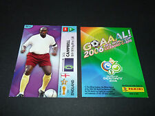 SOL CAMPBELL ENGLAND PANINI CARD FOOTBALL GERMANY 2006 WM FIFA WORLD CUP