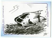 Thunderbirds Are Go! Movie Sketch Card by James Ramsey Vehicle