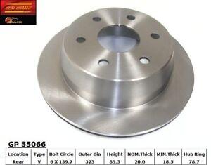 Disc Brake Rotor-Hybrid Rear Best Brake GP55066