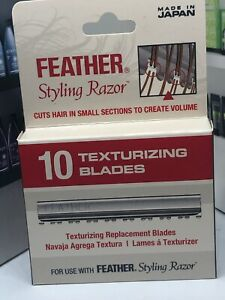 JATAI FEATHER TEXTURIZING STYLING RAZOR BLADES  AUTHENTIC MADE IN JAPAN