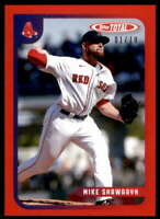Mike Shawaryn 2020 Topps Total Red #786 /10 Red Sox