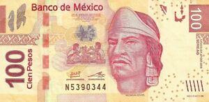 MEXIC0.2014,100 PESOS,SERIE AS,UNCIRCULATED,(B)