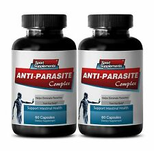 Antifungal Tablet  Cleanse Anti Parasite Complex 1500mg  Eliminate Parasites 2B