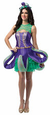Sassy Ornate Octopus Costume Adult Women Sexy Fancy Dress Rasta Imposta One Size