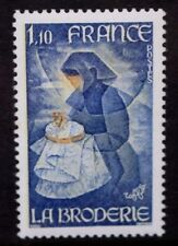 FRANCE 1980 Handicrafts Embroidery. Set of 1. Mint Never Hinged. SG2358.