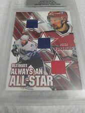 Peter Forsberg 2003-04 BAP Ultimate Mem Always an All Star Triple Relic /50
