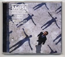 Muse CD + DVD ABSOLUTION-Benelux SPECIAL EDITION WITH BONUS DVD documentary